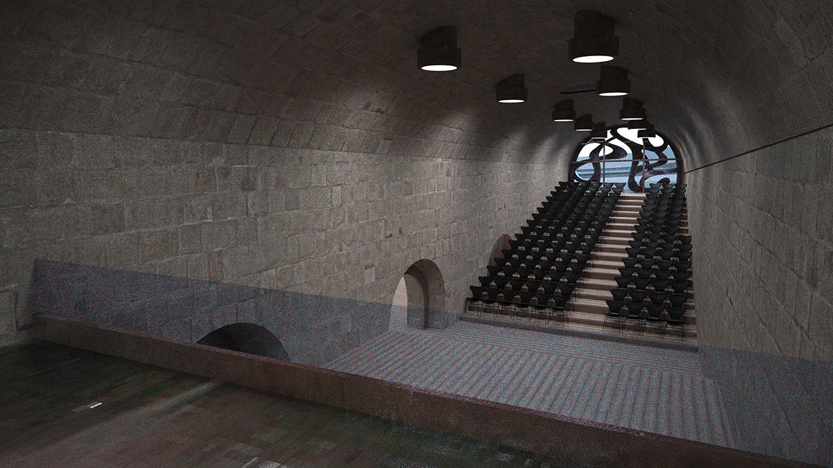 αμφιθέατρο δεξαμενή Ζανέ