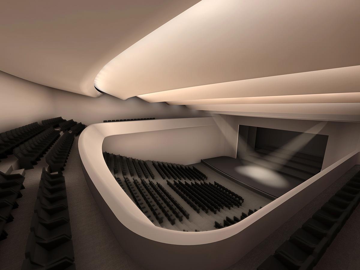 εσωτερικό αμφιθέατρο